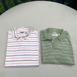 Lot of 2 American Eagle Men's Polo Shirts - XL